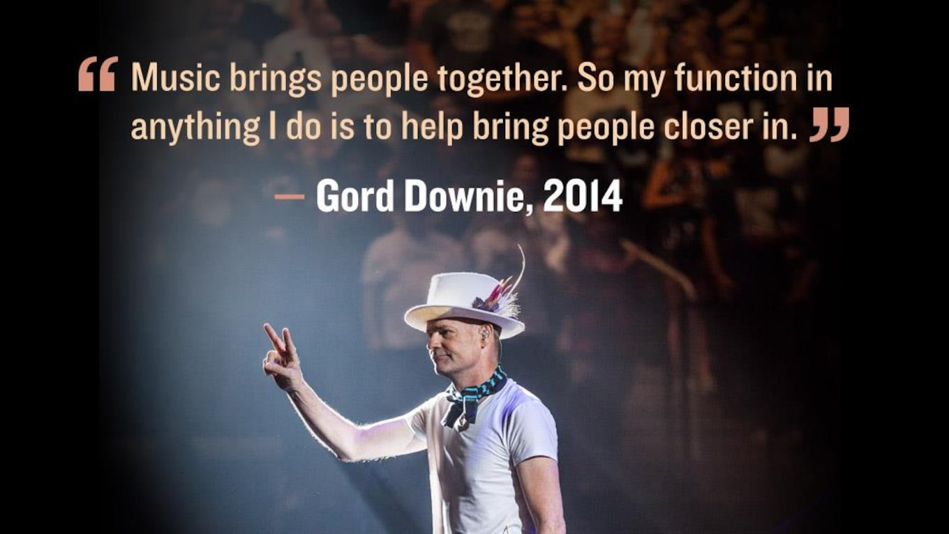 26 Gord Downie Quotes That Will Inspire You Cbc Music