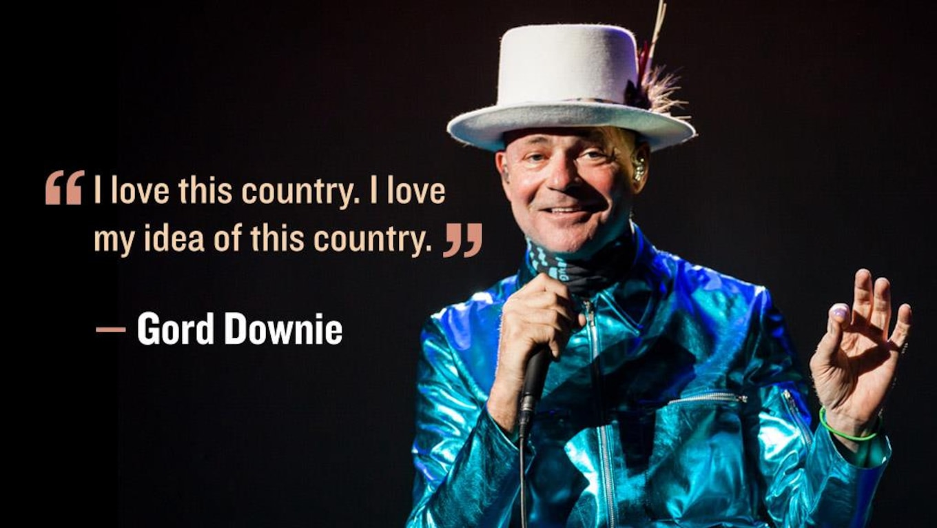 Image result for REmembering Gord Downie Meme