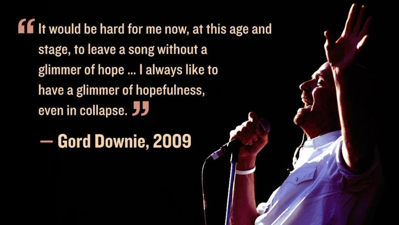 Cup Half Full Quotes: 26 Gord Downie Quotes That Will Inspire You