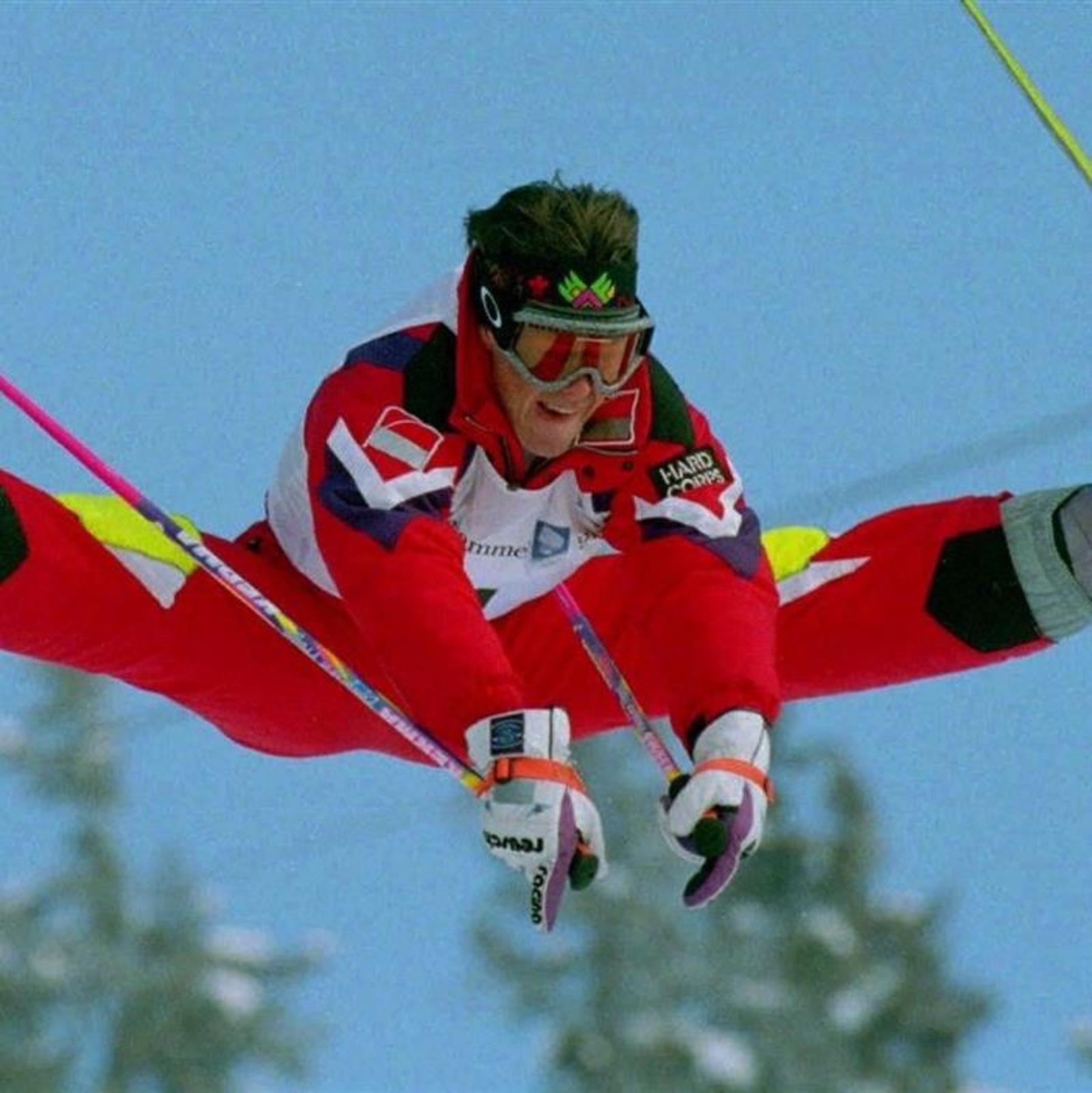 Jean-Luc Brassard aux Jeux olympiques de Lillehammer en 1994