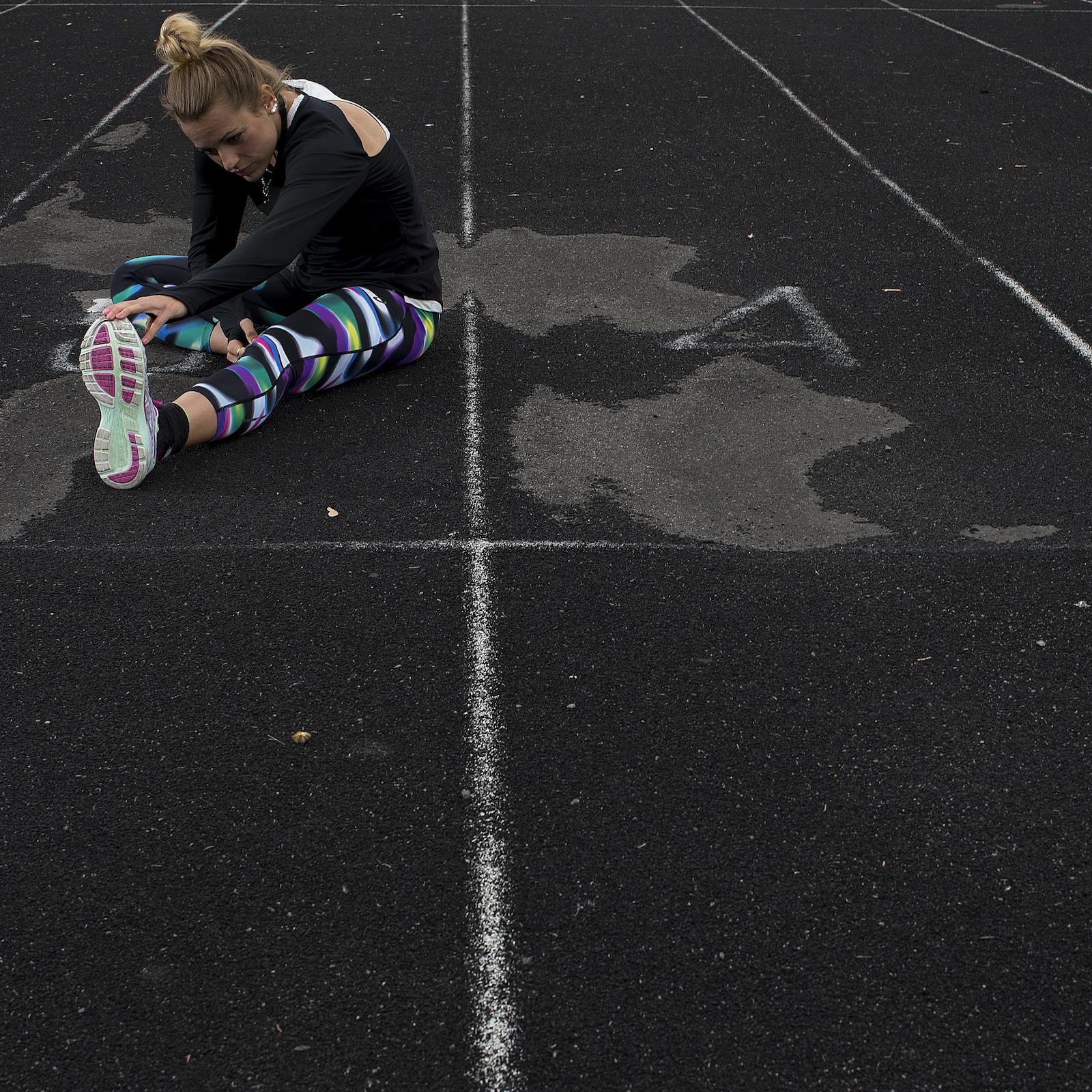La coureuse Annie Leblanc