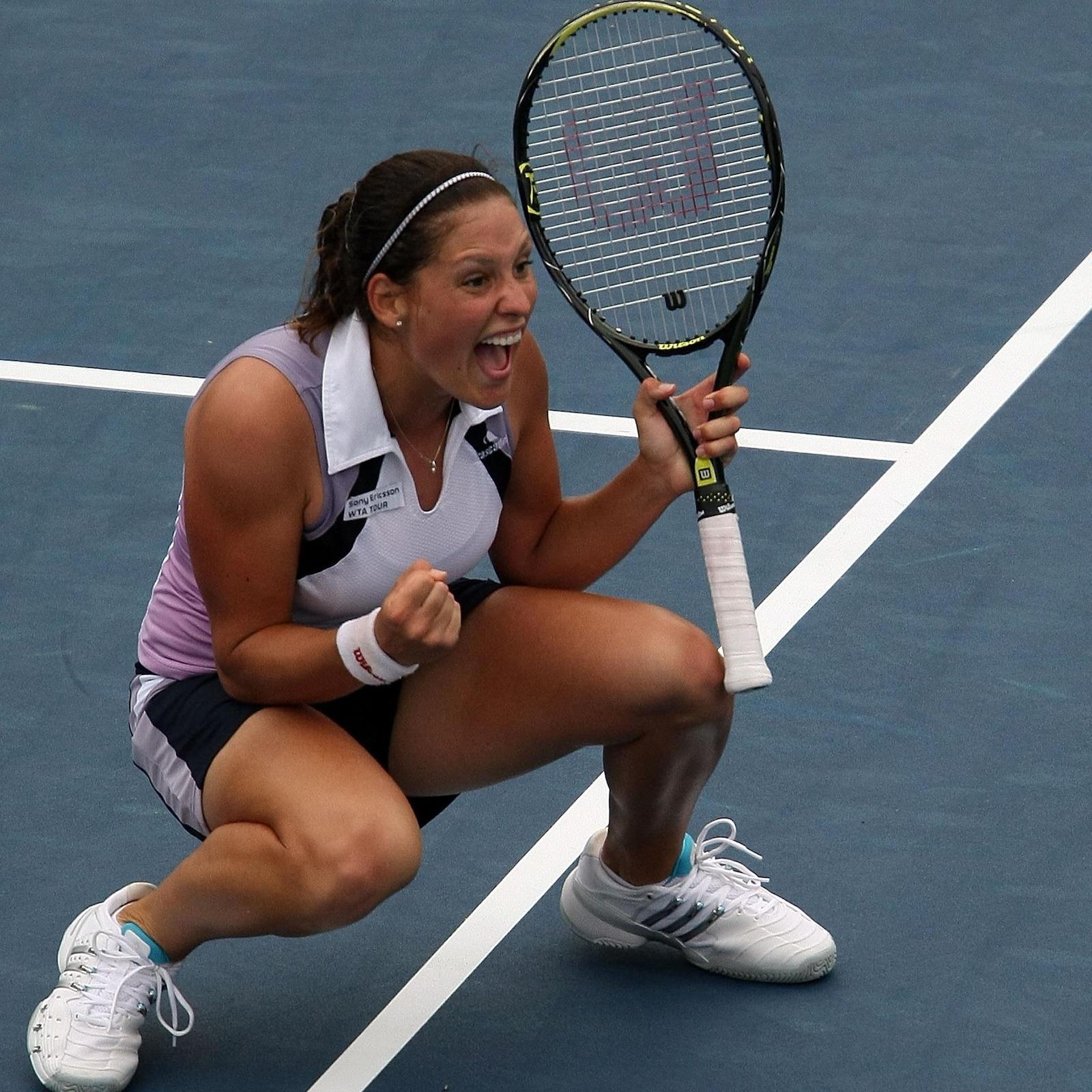 Stéphanie Dubois à Wimbledon en 2001