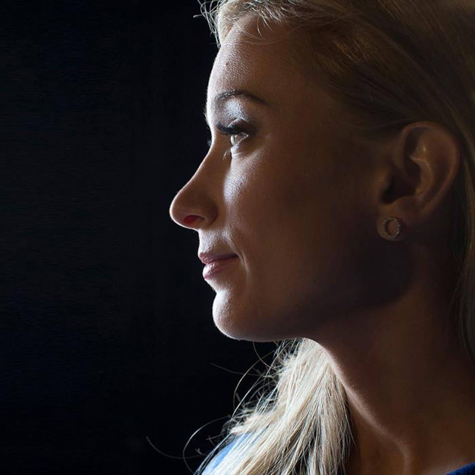 La patineuse artistique Joannie Rochette