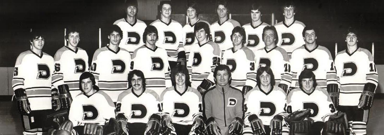 L'édition 1977-1978 des Dynamos de Shawinigan