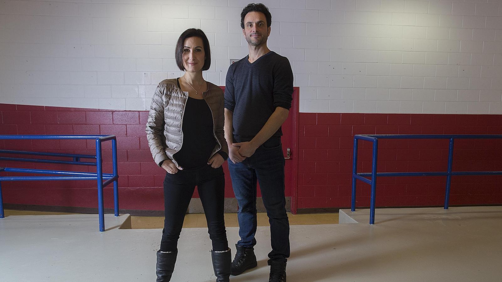 Marie-France Dubreuil et Patrice Lauzon