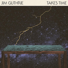 The album cover art for Jim Guthrie's 2013 album, Takes Time.