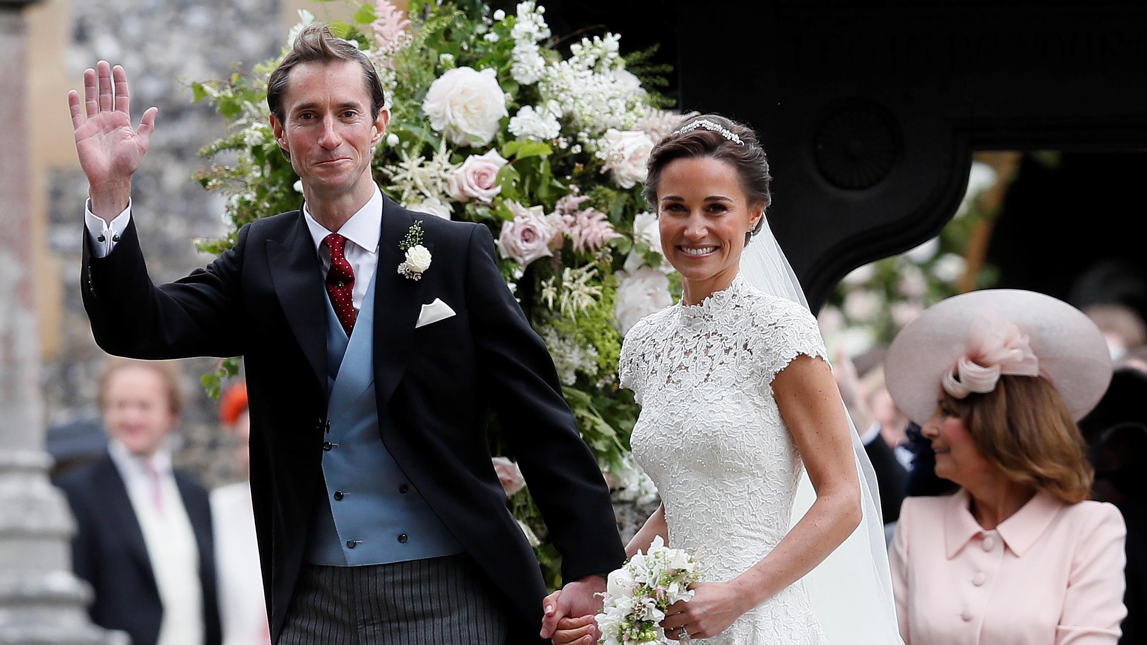 Connu La famille royale au mariage de Pippa Middleton | ICI.Radio-Canada.ca DZ97