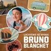 <i>Attachez votre ceinture</i>, du balado <i>L'académie de voyage de Bruno Blanchet</i>.