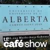Affiche du Campus Saint-Jean à l'Université de l'Alberta.