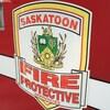 Un camion du Service d'incendie de Saskatoon.
