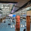 L'aéroport international de Vancouver.