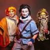 Trois personnages du spectacle.