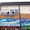 La façade de l'École Cecil Rhodes à Winnipeg.