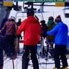 Skieurs au Mont-Comi