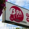 Panneau indiquant le Bar Italia.