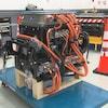 Ce berceau de Dana TM4 est un regroupement de sous-composants électriques qui remplacent le moteur comme fonction interne du véhicule électrique.