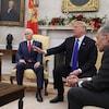 Nancy Pelosi, Mike Pence, Donald Trump, Chuck Schumer.