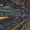 Des milliers d'ordinateurs disposés dans un entrepôt.