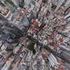 Vue aérienne du centre-ville de Buenos Aires.