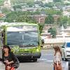Un bus du Réseau de transport de la Capitale.