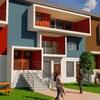 Image de synthèse représentant les maisons que souhaite construire Camponi.