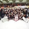 Les Cantonniers de Magog sont champions de la Ligue midget AAA du Québec.