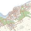Une carte d'Ottawa divisée par quartier.