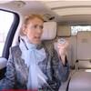Céline Dion et James Corden à bord du Carpool Karaoke.