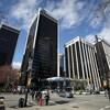 Le centre Bentall est composé de 4 tours de bureaux dans le quartier financier du centre-ville de Vancouver.