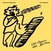 Dessin d'un personnage chantant et jouant du piano. Le fond est jaune.