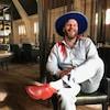 Le chanteur de Bleu Jeans Bleu Mathieu Lafontaine alias Claude Cobra.