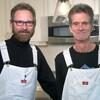 Cliff Randall (à gauche) et Mike Paterson (à droite).