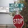 Intersection Colonization Road.