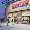 "Facade avant d""un magasin Costco"