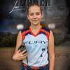 Lexi Daken dans son uniforme de joueuse.