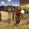 Danses traditionnelles présentées à la vigile de Val-d'Or, mercredi soir.