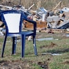 Des maisons ont été complètement détruites dans le comté de Lee, en Alabama.