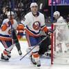 Derick Brassard sur la glace pendant un match des Islanders de New York