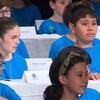 Des jeunes participent à la dictée PGL