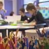 Des écoliers en classe