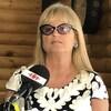 Portrait de Lili-Anne Tremblay lors d'une conférence de presse