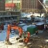 Ce qui deviendra l'Esplanade Tranquille et sera inaugurée l'année prochaine.