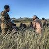 Des hommes armés en Éthiopie.