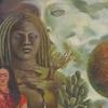 Une toile de l'artiste  Frida Kahlo exposée au Musée national des beaux-arts du Québec