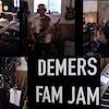 Les musiciens de la famille Demers.