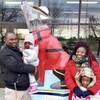 Priscille Kanouo, son conjoint, Jean Marc Ngosso, et leurs deux enfants.