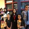 La famille, souriante, sur une photo fournie par la mosquée qu'elle fréquentait à Halifax.