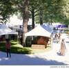 Un dessin illustrant le futur site permanent pour les festivals.