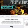 La photo de profil montre des Autochtones. La section Informations sur la page montre qu'elle est gérée par six personnes vivant au Kosovo.