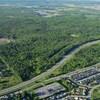Une vue aérienne de la forêt Boucher à Gatineau. (Archives)